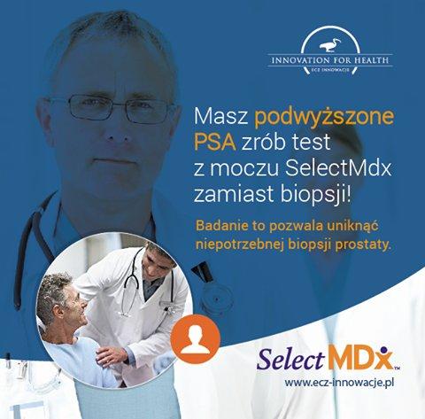 Płynna biopsja prostaty – SelectMDx Liquid Biopsy