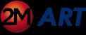 Logo 2M Art - niebieskie_1 - 100px